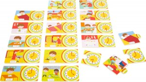 Small Foot Telling Time Wooden Puzzle