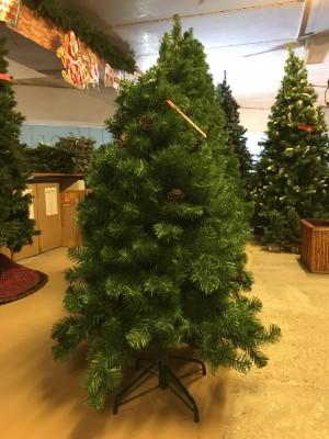 Christmas Tree with Pine Cones (1.20m / 4')