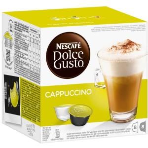 Nescafe Dolce Gusto Cappuccino Pods (x16)