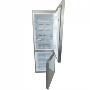 Finlux Fridge Freezer 324L No Frost A++ Stainless Steel GTSN373E