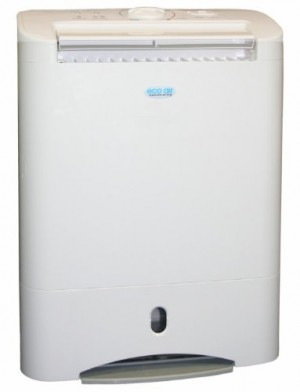 EcoAir DD3 SIMPLE Desiccant Dehumidifier with nano silver filter 10L per day