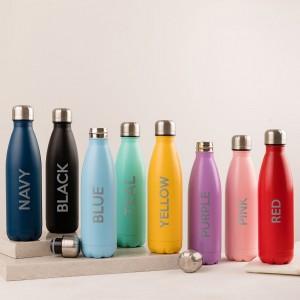 Personalised Water Bottle (3 Words)