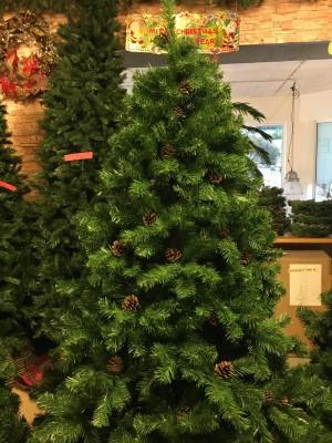 Christmas Tree with Pine Cones (2.00m / 6.5')