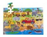 Bigjigs - African Adventure Floor Puzzle