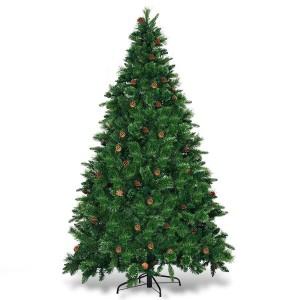 Christmas Tree with Pine Cones (2.30m / 7.5')