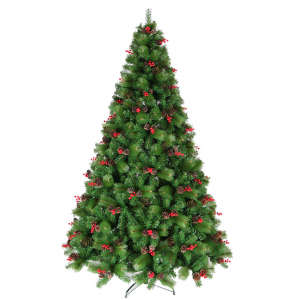 Christmas Tree with Pine Cones and Berries (2.00m / 6.5')