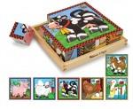 Farm Animals Cube Puzzle