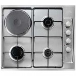 Finlux Stainless Steel Gas/Electric Hob - FX631SX