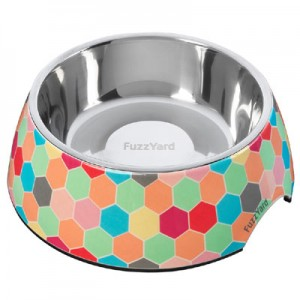 FuzzYard Dog Bowl - The Hive - Medium