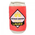 FuzzYard Plush Dog Toy - Can of Beer