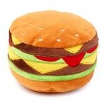 FuzzYard Plush Dog Toy - Hamburger