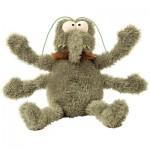 FuzzYard Plush Dog Toy - Scratchy the Flea