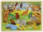 Goki - African Animals Framed Puzzle