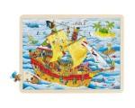 Goki - Pirates Framed Puzzle