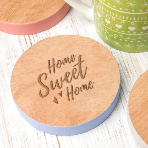 Home Sweet Home Coaster