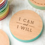 I can and I will Coaster