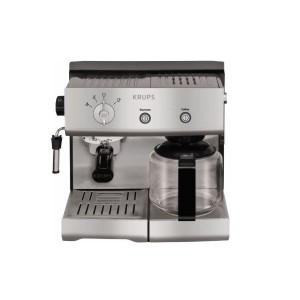 Krups Combi Espresso and Filter Coffee Machine XP2240