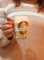 Lovesome Labels - Initial Personalised Mug