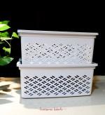 Lovesome Labels - Large Stackable Basket
