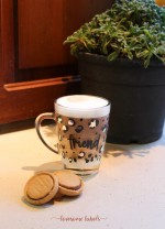 Lovesome Labels - Personalised Leopard Mug