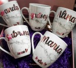 Lovesome Labels - Personalised Marble Mug