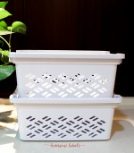 Lovesome Labels - Small Stackable Basket