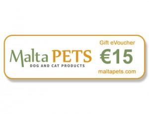 Malta Pets €15 Gift eVoucher