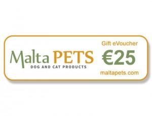 Malta Pets €25 Gift eVoucher