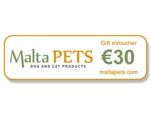 Malta Pets €30 Gift eVoucher