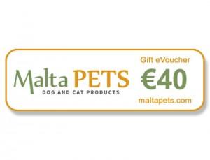 Malta Pets €40 Gift eVoucher