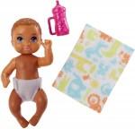 Mattel Barbie Skipper Babysitters Inc Baby Diaper Bottle Doll