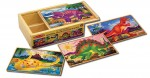 Melissa & Doug - Dinosaurs Puzzles in a Box