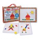 Melissa & Doug - Magnetic Patterns Block Kit