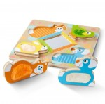 Melissa & Doug - Pets Touch & Feel Wooden Puzzle