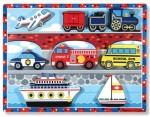 Melissa & Doug - Vehicles Chunky Puzzle