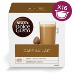 Nescafe Dolce Gusto Cafe Au Lait Pods (x16)