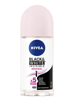 Nivea Black & White Clear Original Anti-Perspirant Deodorant Roll On 50ml