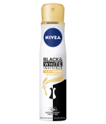 Nivea Black & White Invisible Silky Smooth Deodorant Spray 250ml