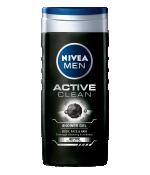 Nivea Men Mini Shower Gel Active Clean with Active Charcoal 250ml