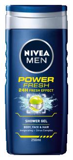 Nivea Men Power Fresh Shower Gel 250ml