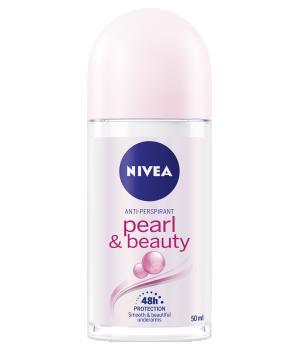 Nivea PEARL & BEAUTY Anti-Perspirant Deodorant Roll On 50ml