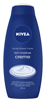 Nivea Rich Moisture Creme Caring Shower Cream 750ml