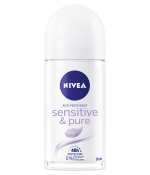 Nivea Sensitive & Pure Anti-Perspirant Deodorant Roll On 50ml