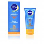 Nivea Sun Protect & Bronze Face Cream SPF50+ (50ml)