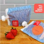 Nom Nom Kids Wave Yoghurt/Smoothie Pouches (4 pack)