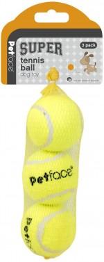 Petface Super Dog Tennis Balls 3pack
