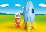 Playmobil Astronaut with Rocket (70186)