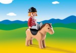 Playmobil Equestrian with Horse (6973)