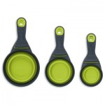 Popware KlipScoop Food Scoop & Measuring Cup - Green - Medium