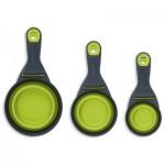 Popware KlipScoop Food Scoop & Measuring Cup - Green - Small